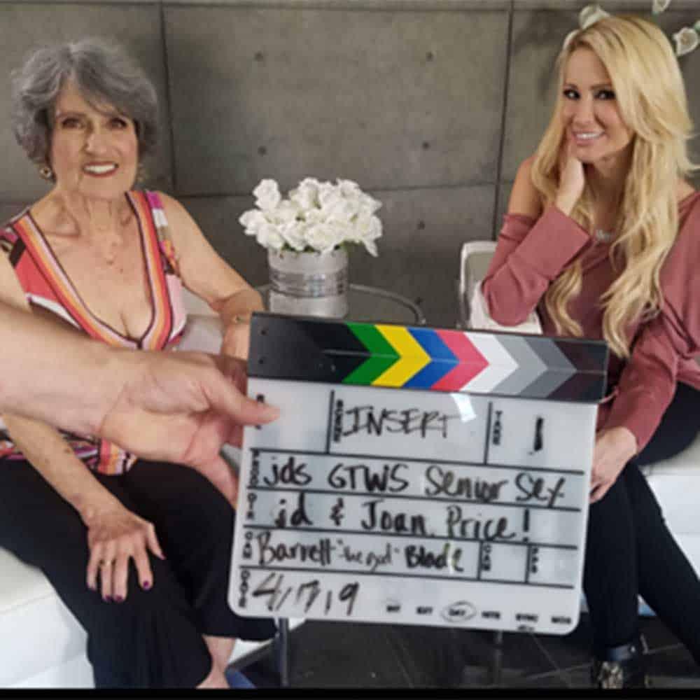 Jessica Drake and Joan Price