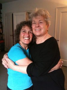 Joan Price and Betty Dodson hug 2011